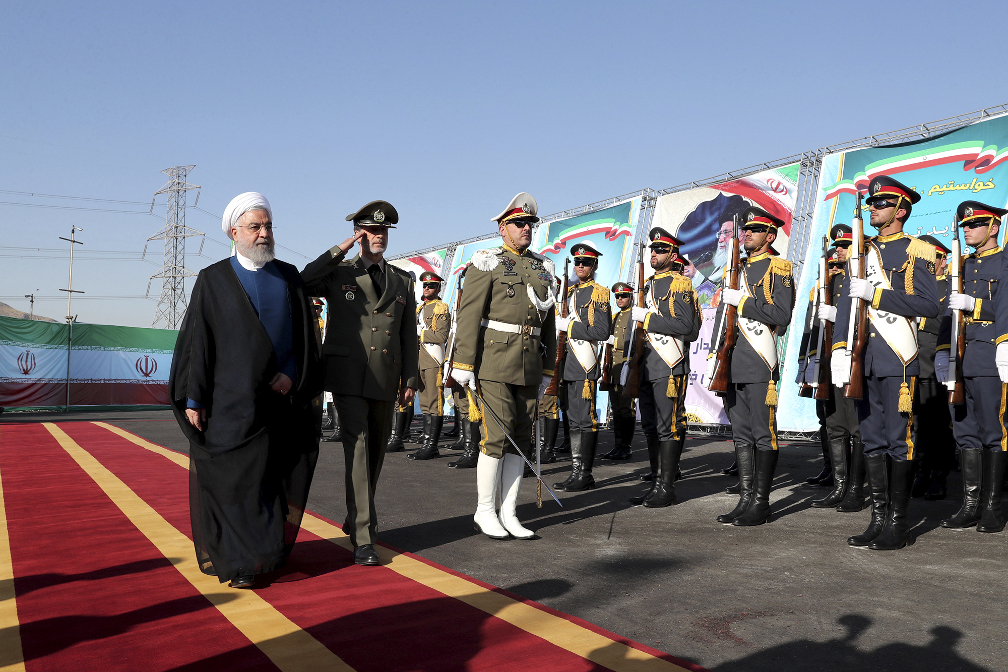 The Latest: Iran imposes sanctions on US think tank