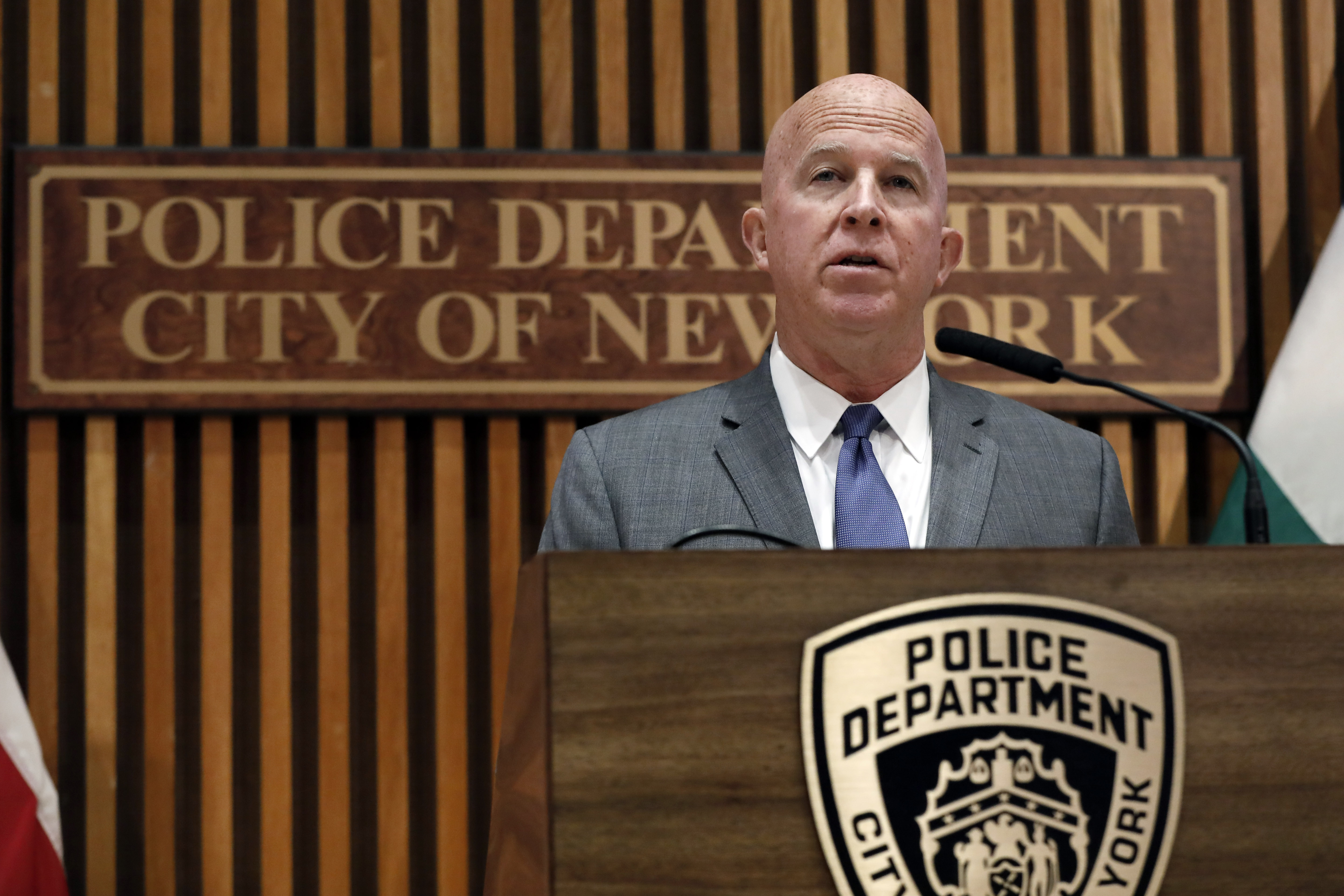 NYPD fires officer 5 years after Garners chokehold death