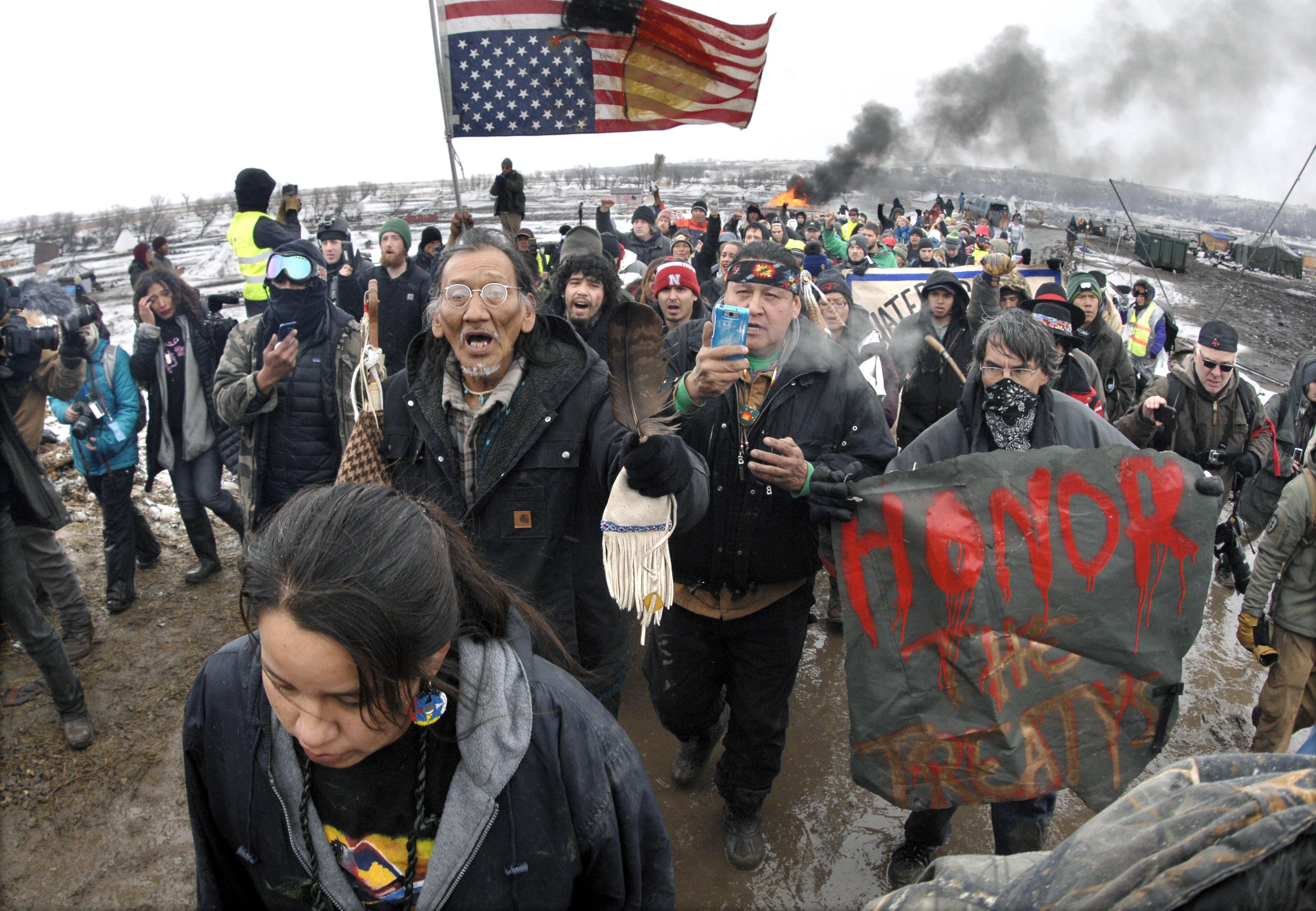 Lawsuit: North Dakota officers used violence on protester