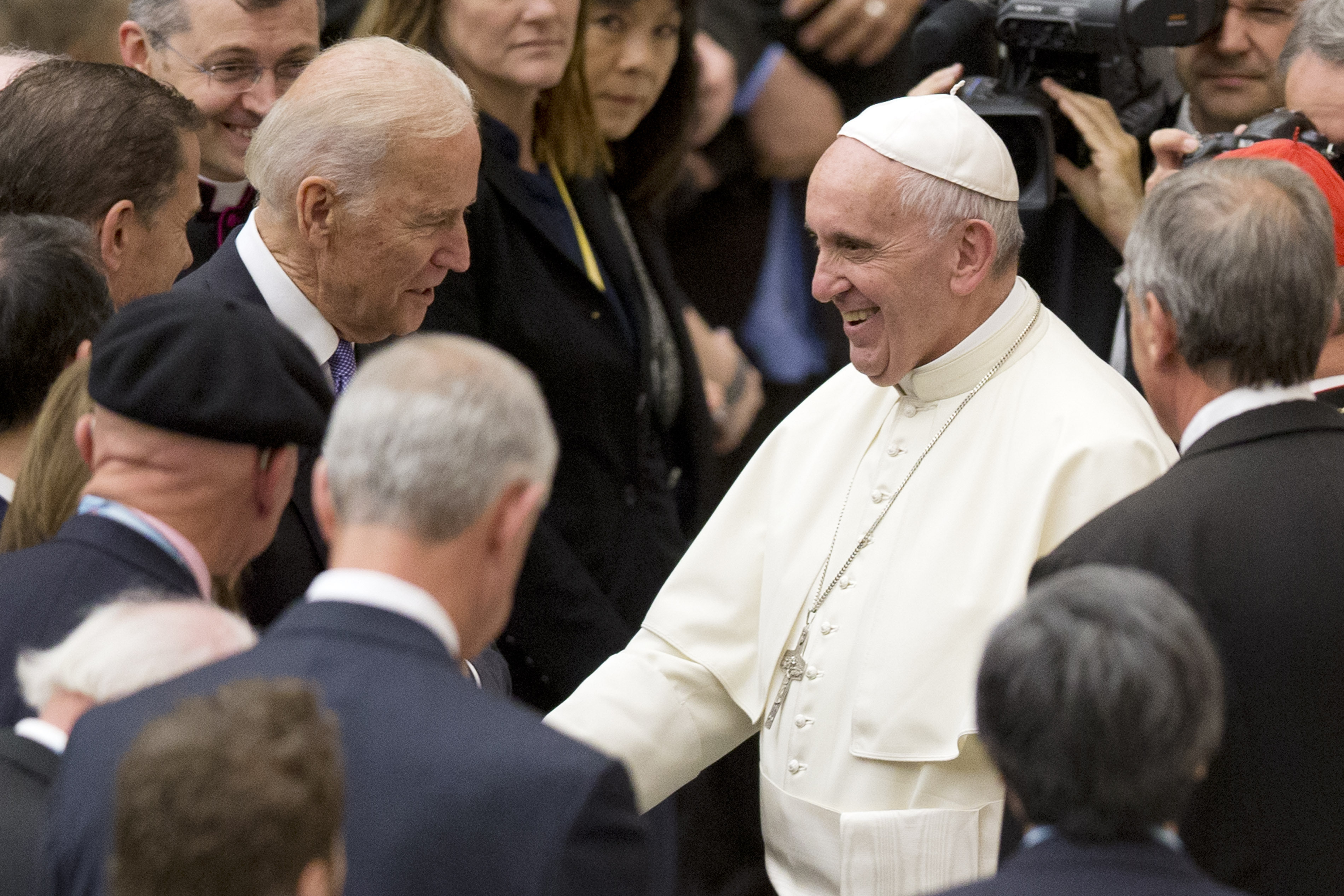 Bidens abortion shift tests the politics of his faith