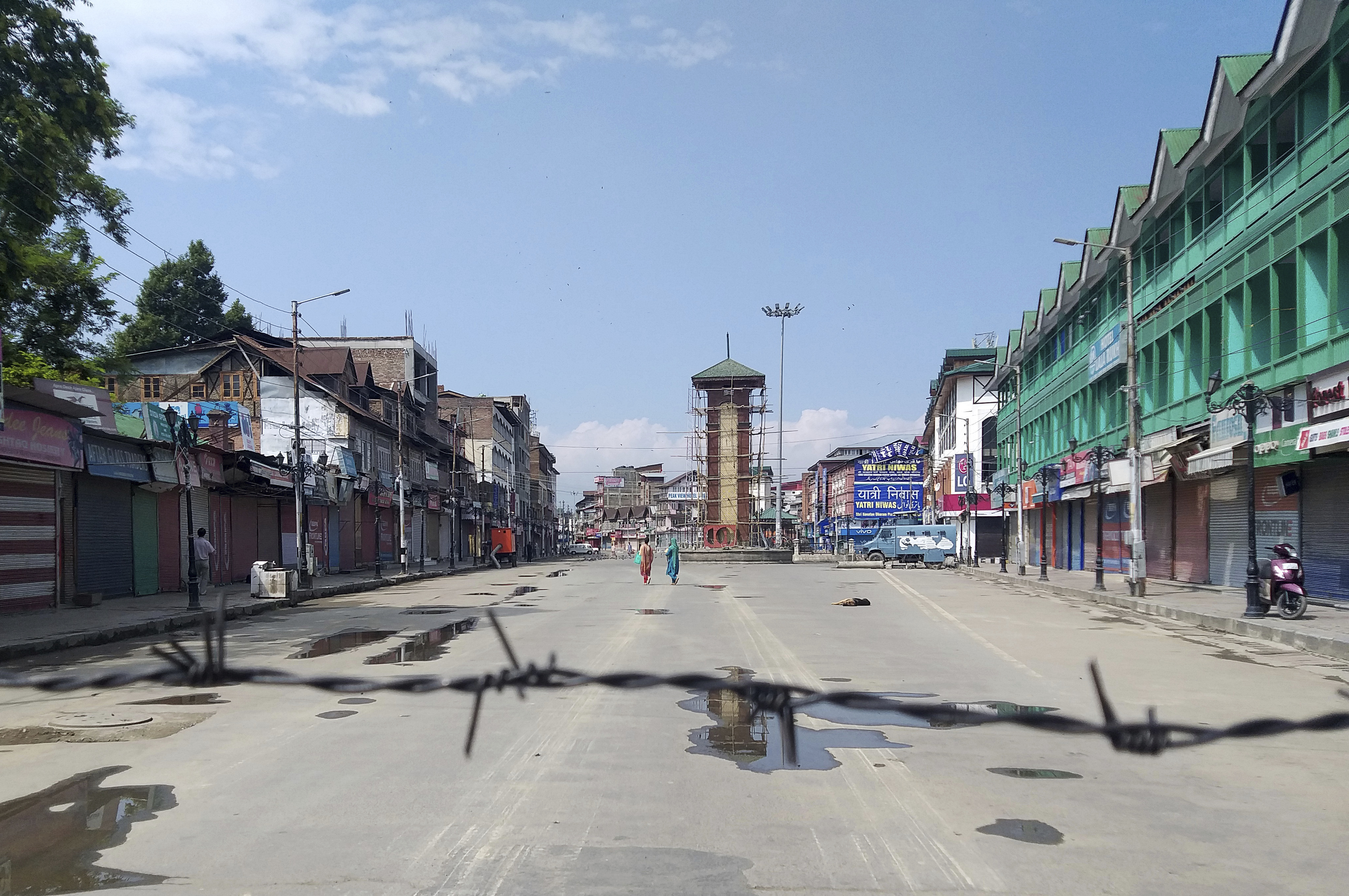 Inside locked down Kashmir, a reporter finds fear and chaos