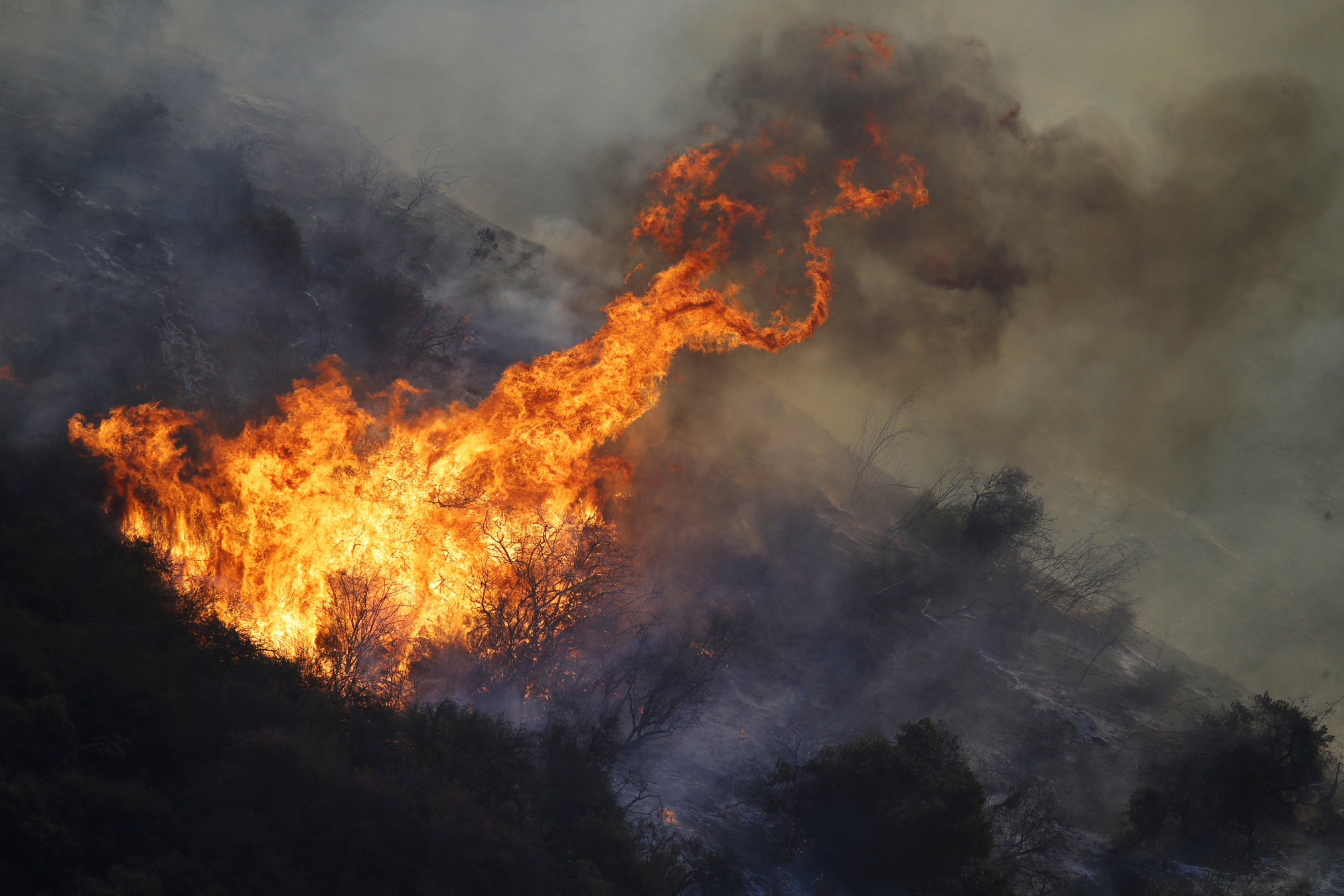 Utility says power lines may have started 2 California fires