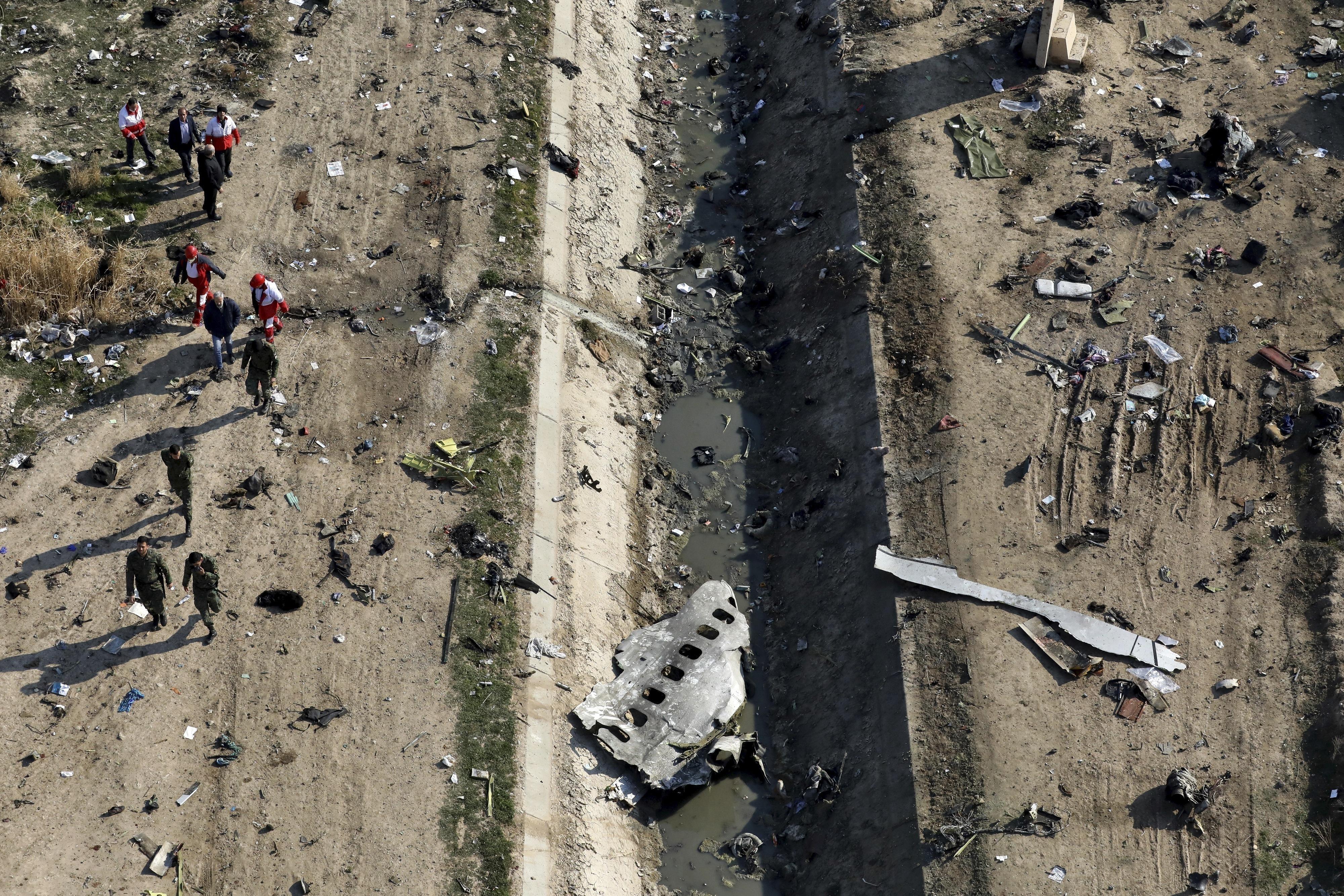 Iran sends downed Ukrainian planes black box to France