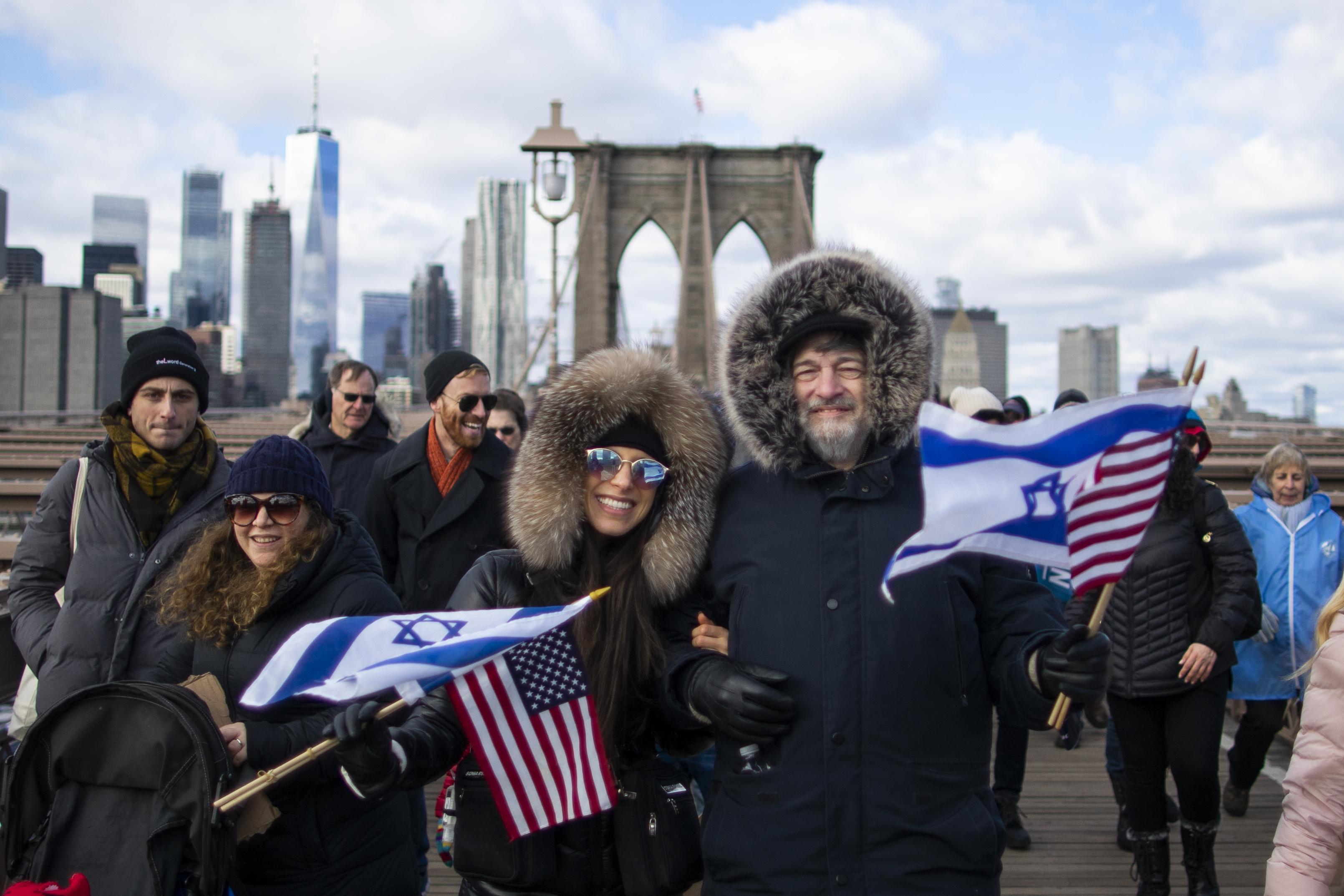Solidarity march against anti-Semitism, acts of hate
