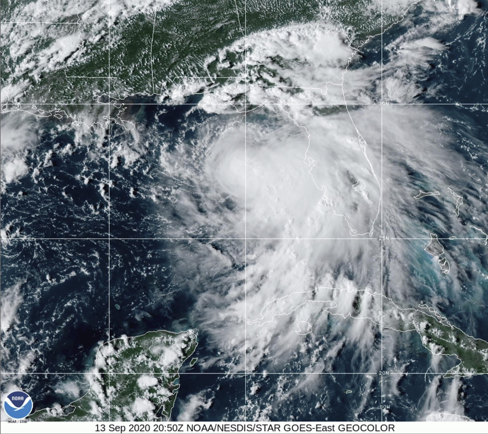 Sallys threat: Potentially historic floods, fierce winds