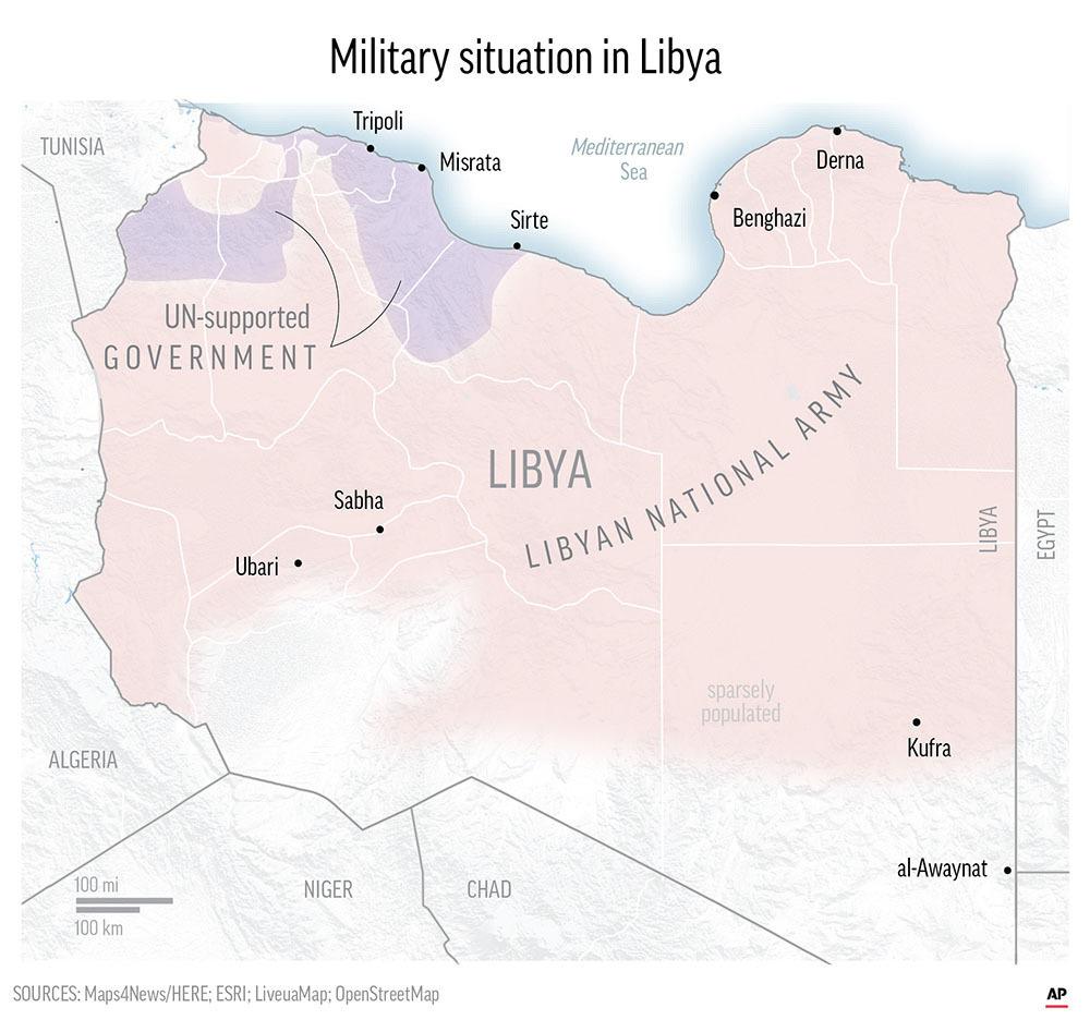Deadly land, deadly sea: Libya migrants face brutal choice