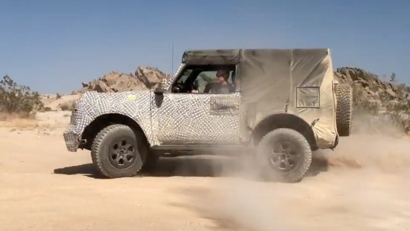 2021 Ford Bronco demonstrates how effective Trail Turn Assist is
