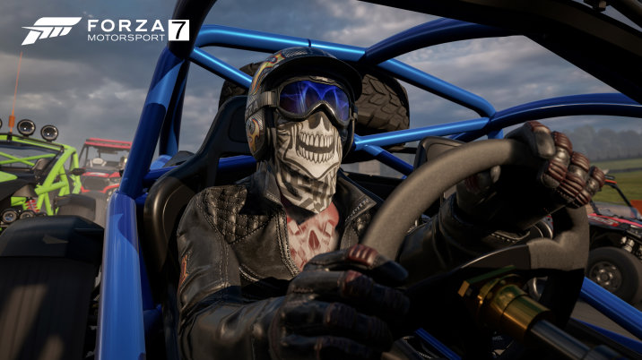 Custom driver gear in Forza Motorsport 7