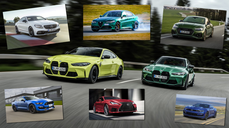 2021 BMW M3 and M4 vs all the high-powered sport sedans and coupes |  Engadget