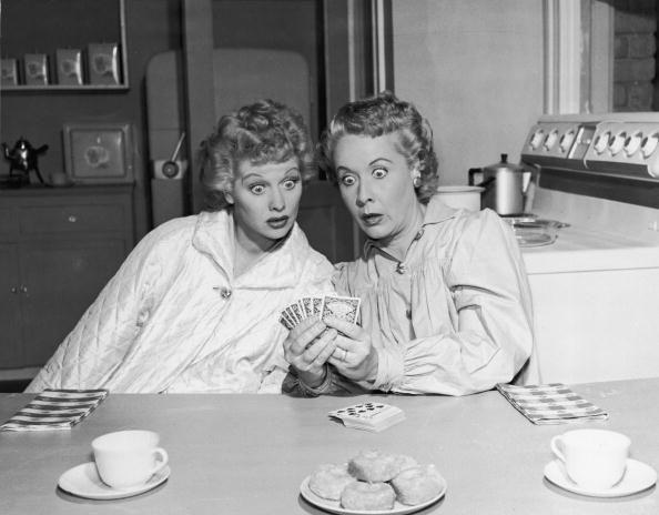《我愛露西》(I Love Lucy)電視節目到現在還不停地在美國電視台重播。