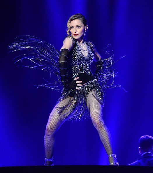 永遠的超級巨星Madonna。