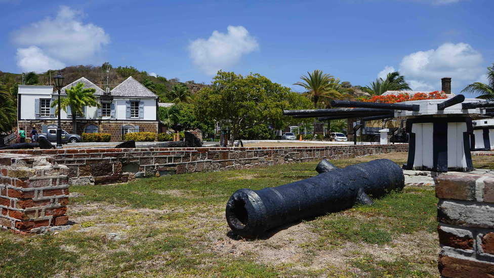 Excitement over wooden shipwreck found in Antigua's seabed; Gemma Handy; BBC News