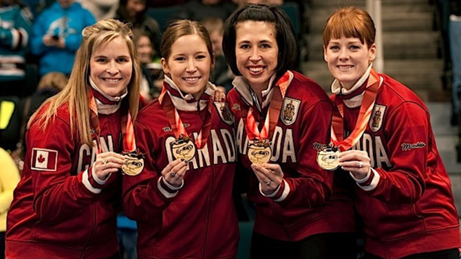 Jones Curling Olympics Jennifer Jones' Olympic Gold