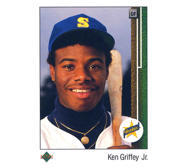 Lot Of 5 Rookie Baseball Cards With Ken Griffey Jr 1989: Ken Griffey Jr.'s Famous 1989 Upper Deck Rookie Card Was