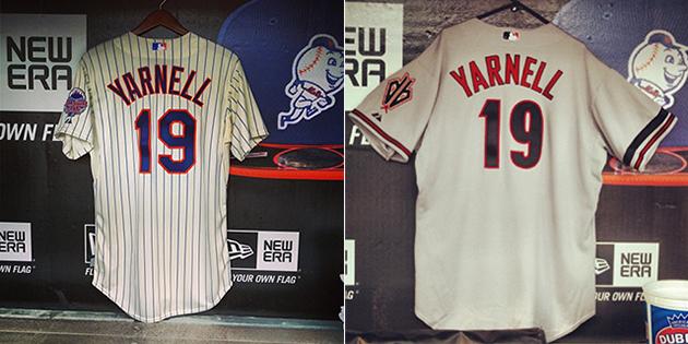Diamondbacks and Mets hang 'Yarnell 19′ jerseys in their ...