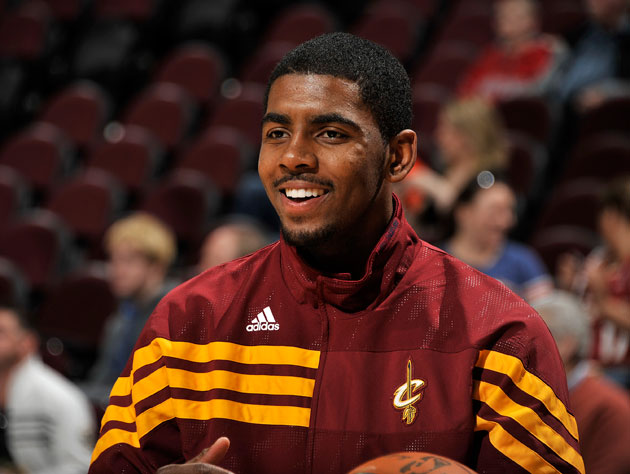 Kyrie Irving wins the NBA's Rookie of the Year award