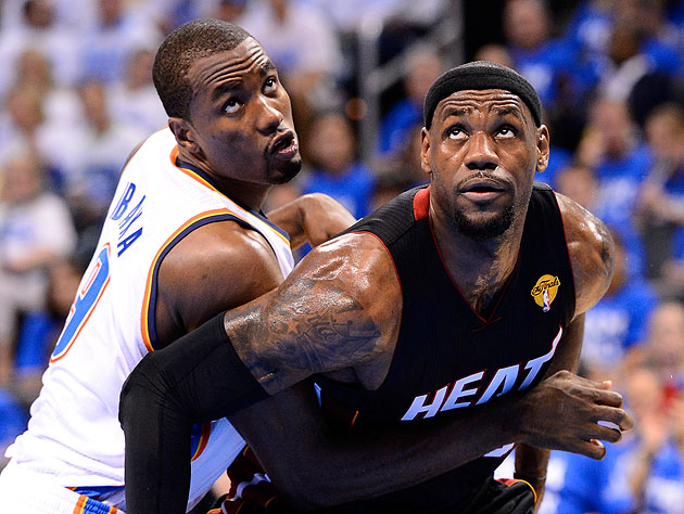 Serge Ibaka says LeBron James is not a good defender, presumably after taking crazy pills