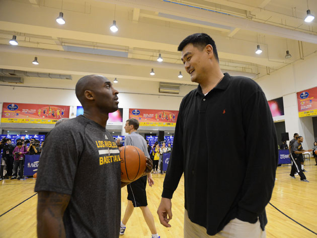 Yao Ming Is Beginning His Third Year At College With A
