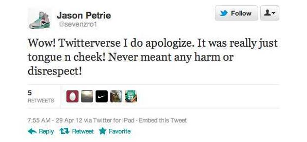 73bc0dc04b2 Nike designer apologizes for saying injured Derrick Rose