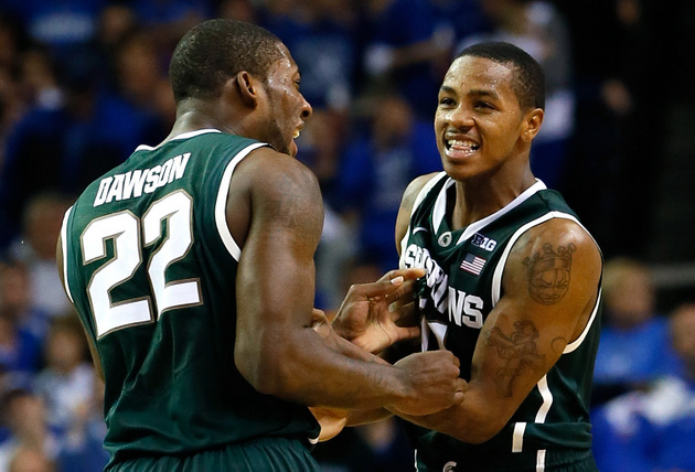 As Kansas searches for go-to scorer, Keith Appling emerges as Michigan State's