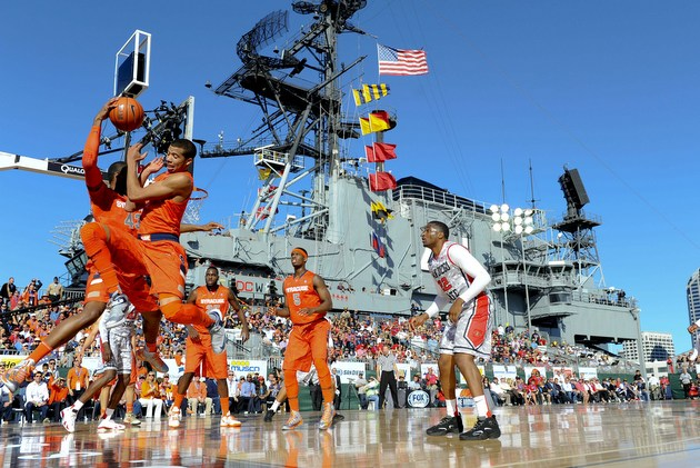 Weather issues demonstrate aircraft carrier games must ...
