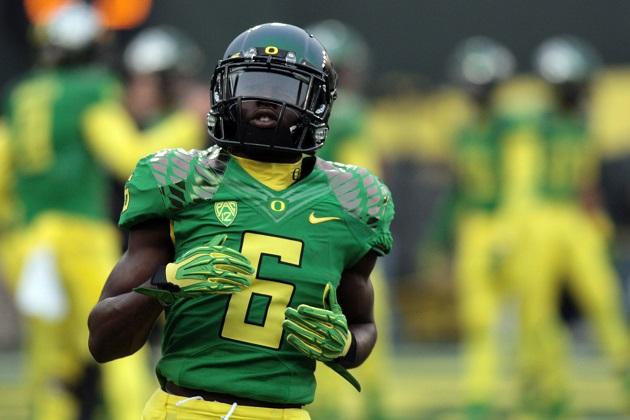 Oregon speedster De'Anthony Thomas will enter the 2014 NFL ...
