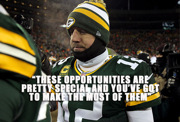 Aaron Rodgers Chose To Shoulder A Lot More Playoff Blame