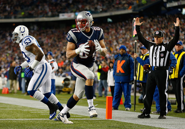 Rob Gronkowski Is Third Tight End In Nfl History With