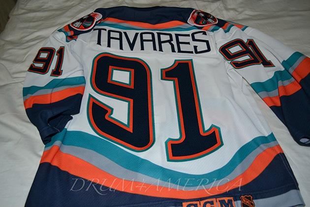 the latest caee4 6f8a9 Jersey Fouls: The John Tavares Islanders Fishsticks sweater
