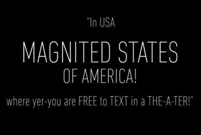 Texas Movie Theater Makes An Example And A Psa Of A Texting Audience Member