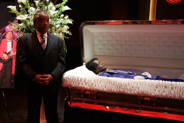 Eazy E Dead Body: James Brown's 80th Birthday: Remembering A Gold Casket