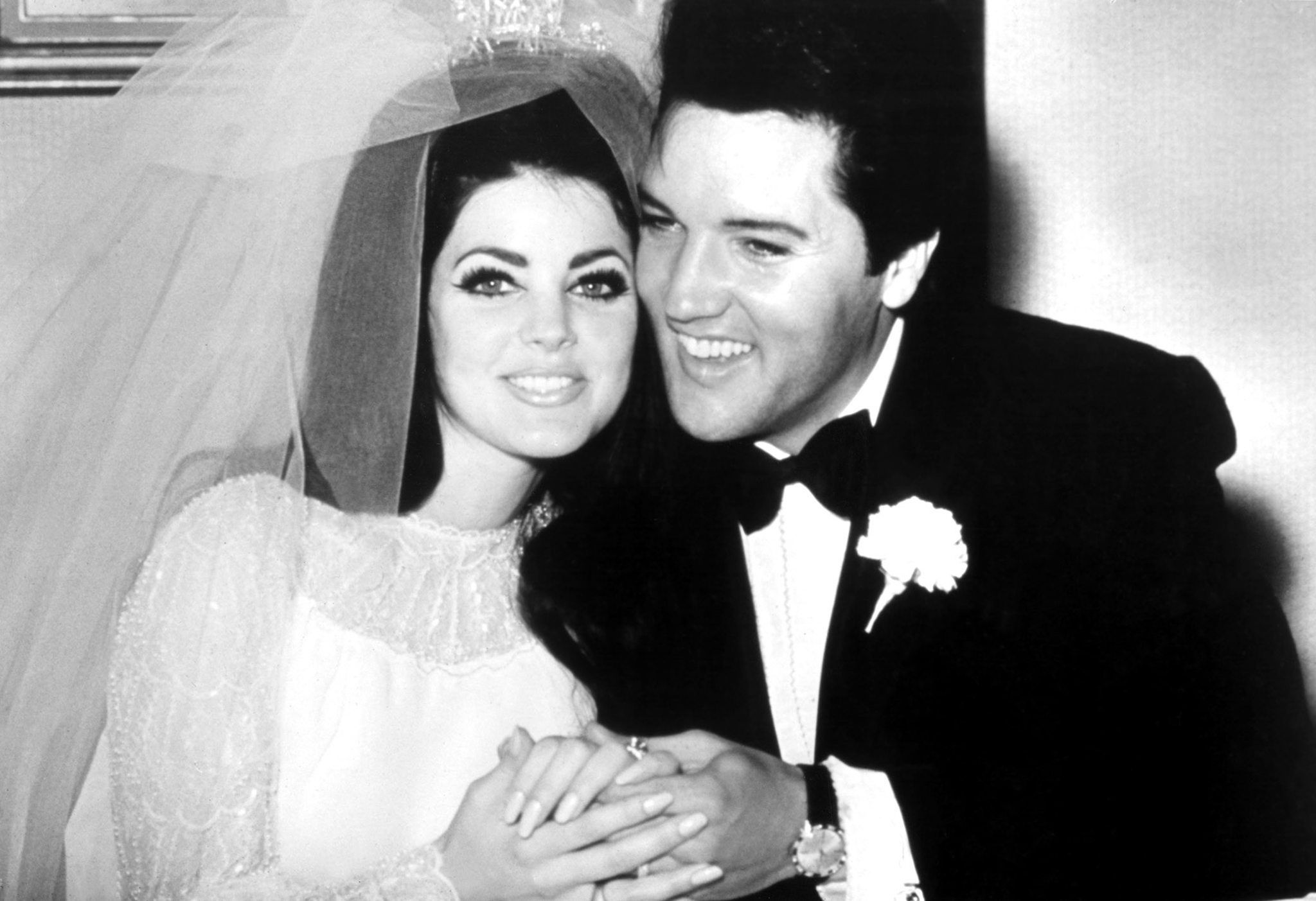 45 Candid Photographs of Elvis and Priscilla Presley on ... |Elvis And Priscilla Presley