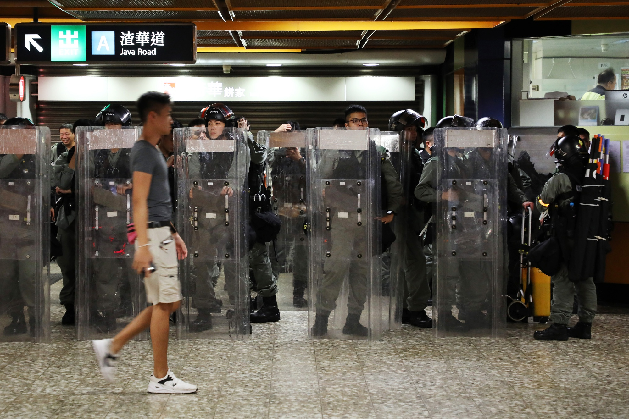 Police Call Weekend Unrest a 'Catastrophe': Hong Kong Update