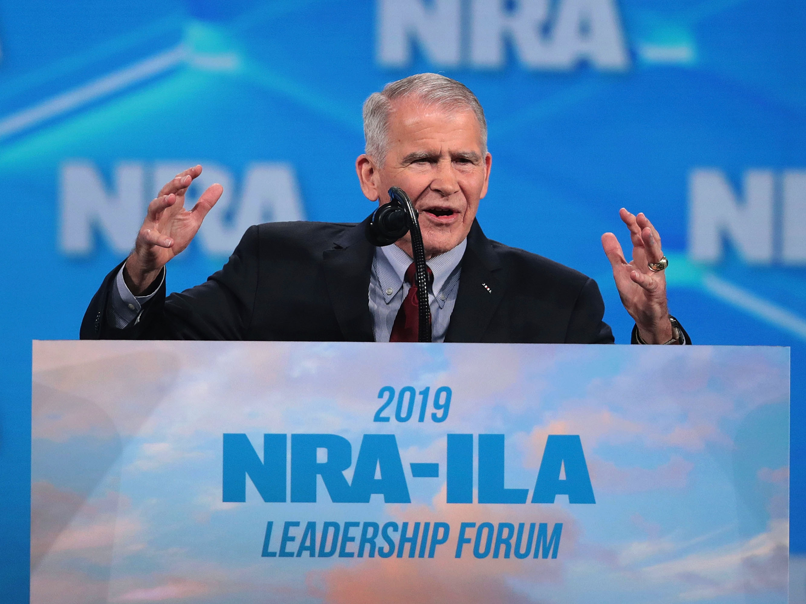 Oliver North Claims NRA's Leader Defamed Him