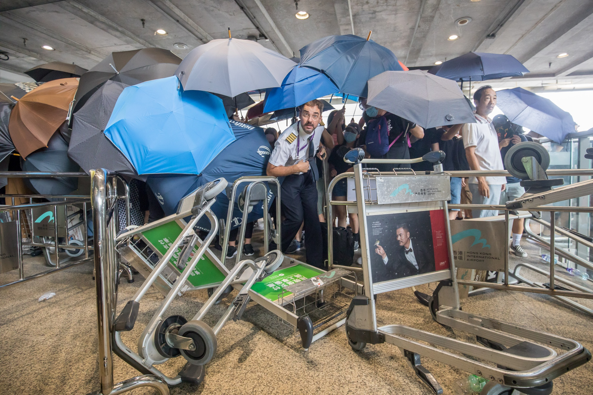 'Spare Our Passengers': Hong Kong Airports Plea to Protesters