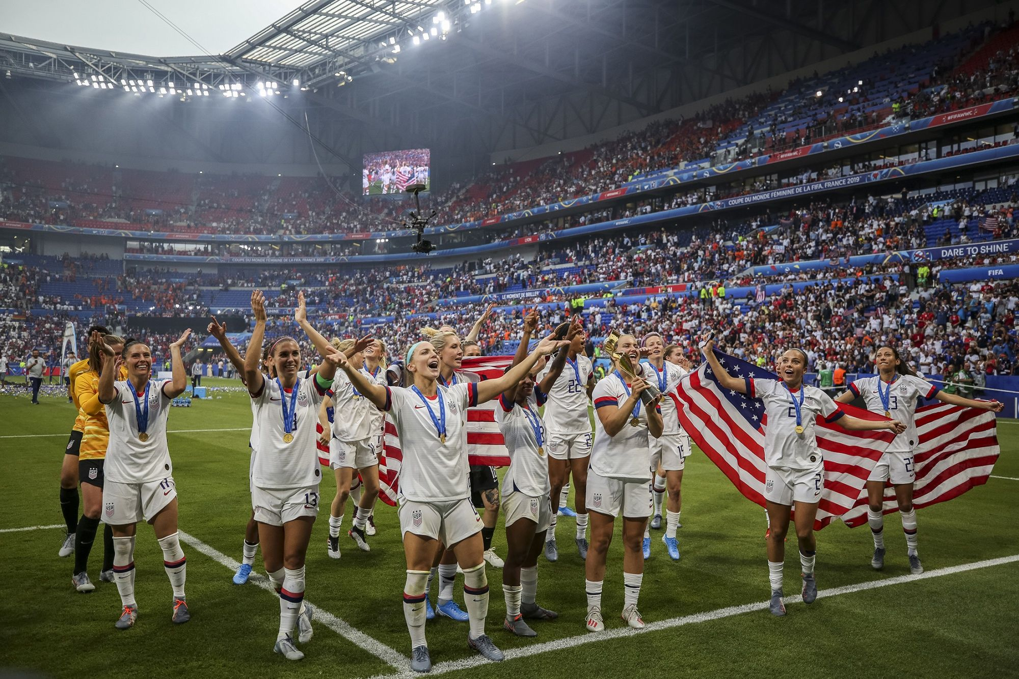 U.S. Women's World Cup Win Tops Men's Final Ratings by 20%