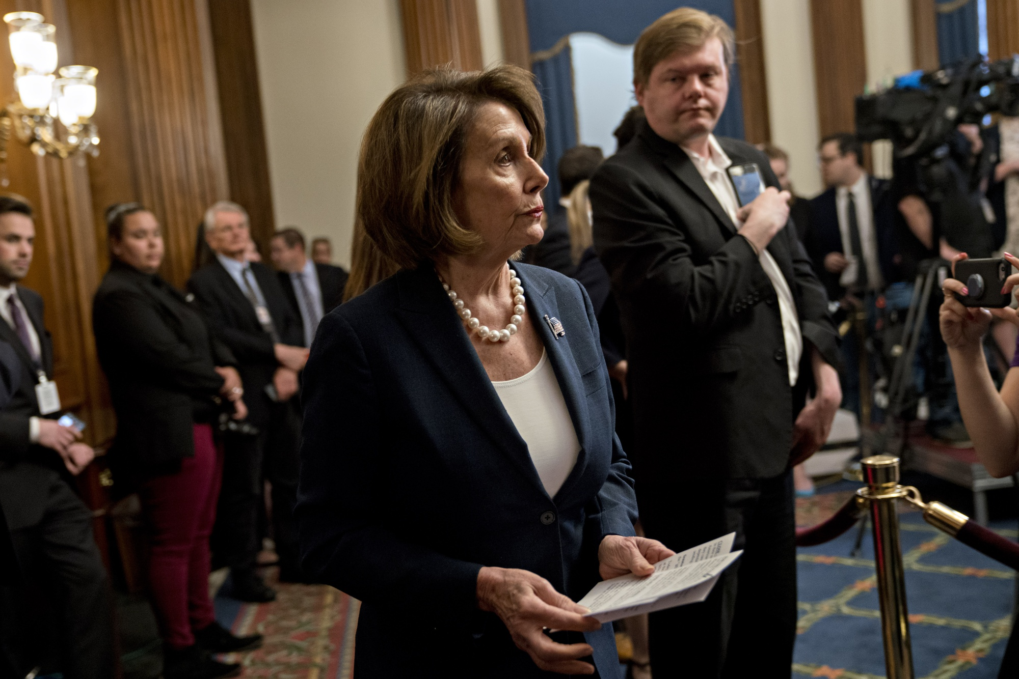 Pelosi Runs Afoul of House Rules in Calling Trump Tweets Racist
