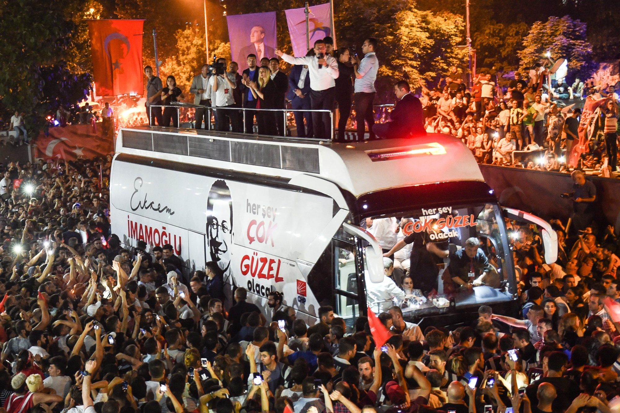 The Man Who Defied Erdogan to Take Istanbul Says It'll Be 'Great'