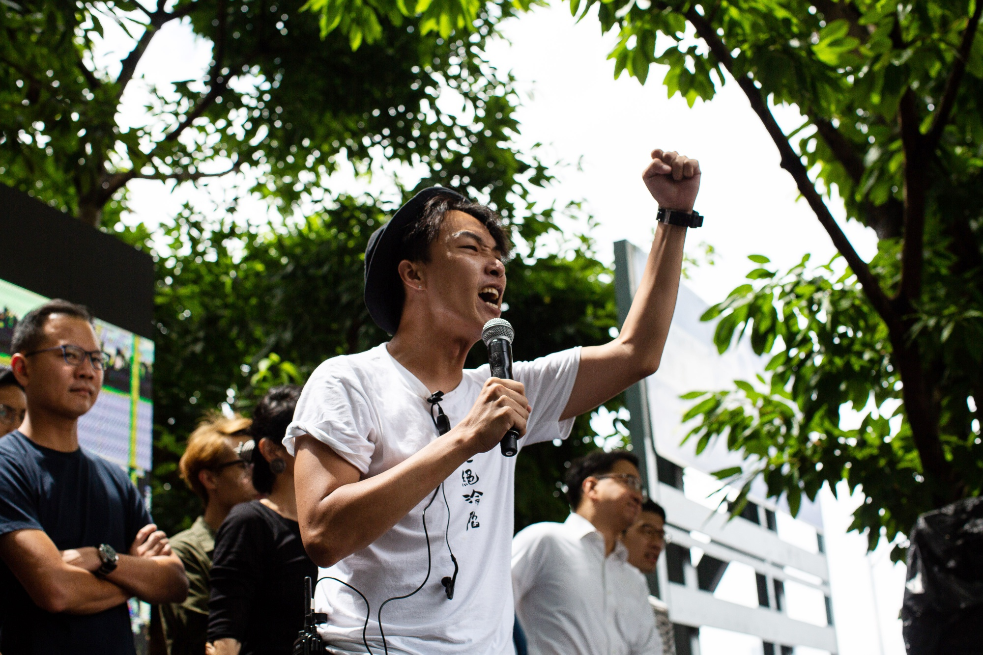 Key Hong Kong Protest Organizer Attacked by Armed Masked Men