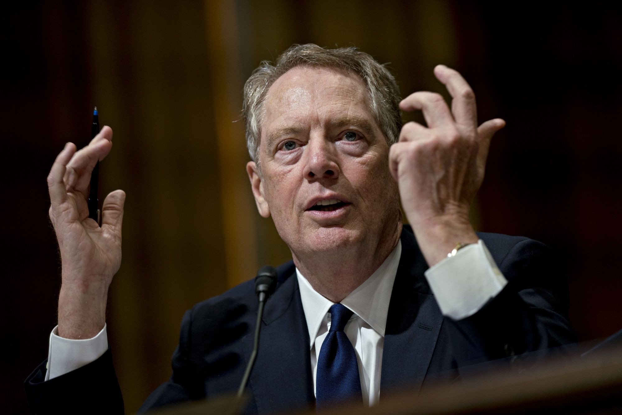 Lighthizer Says Vietnam Must Cut Its Trade Surplus With U.S