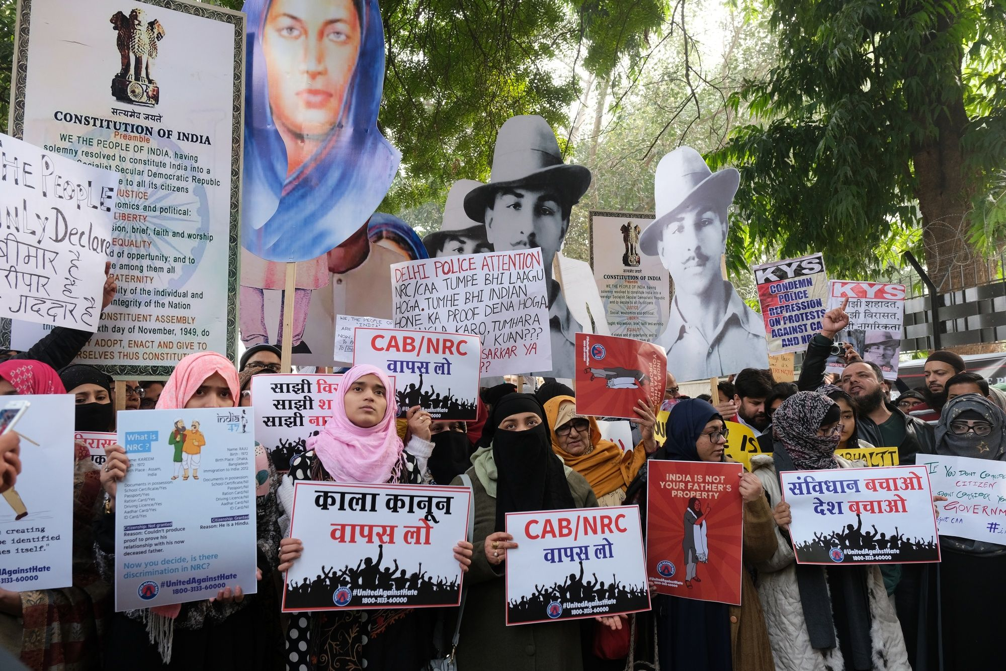 Modi Hardens Stance Against Protesters Who Hold the Line