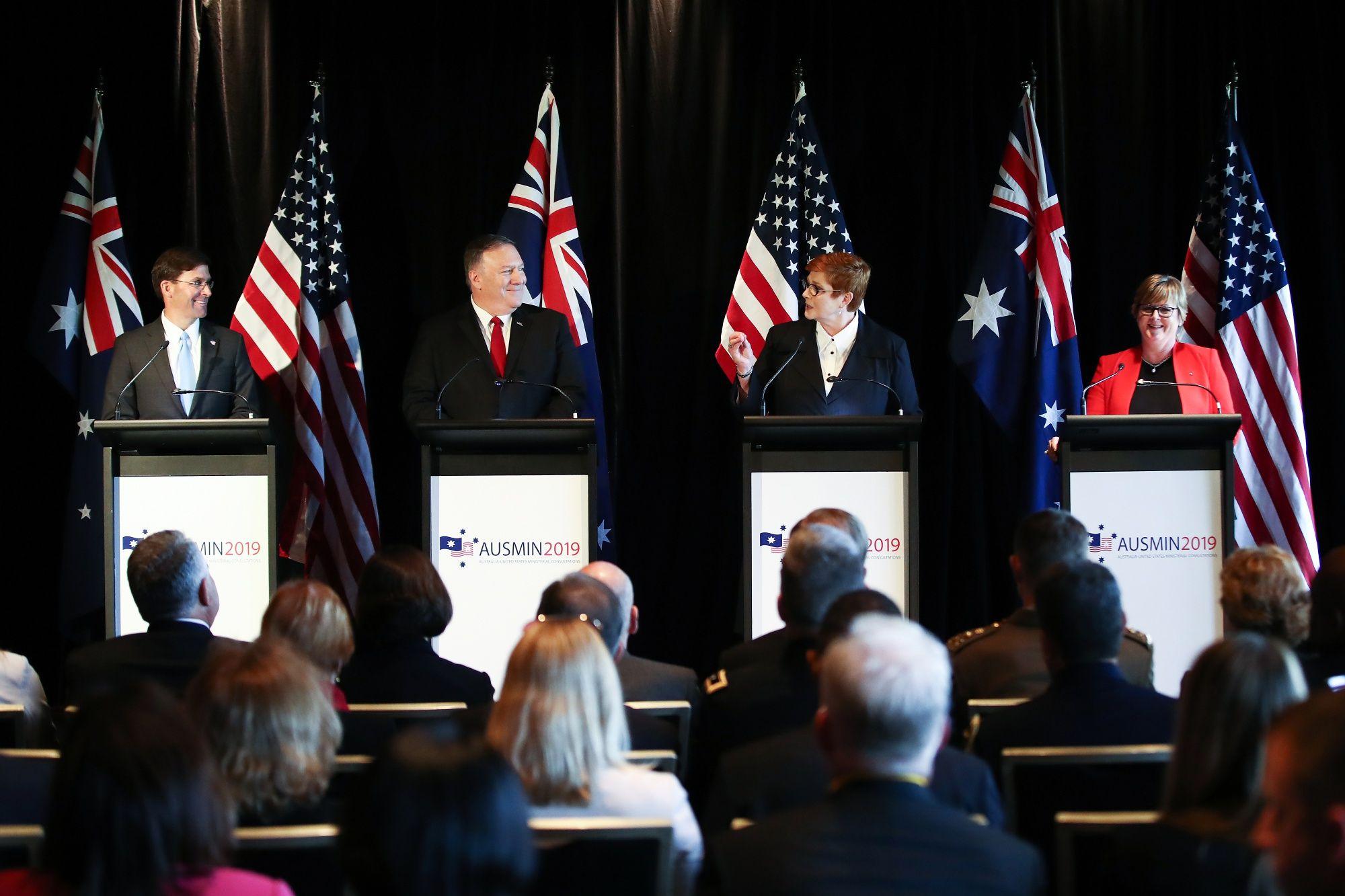 Australia Won't Consider Hosting U.S. Missiles, PM Morrison Says