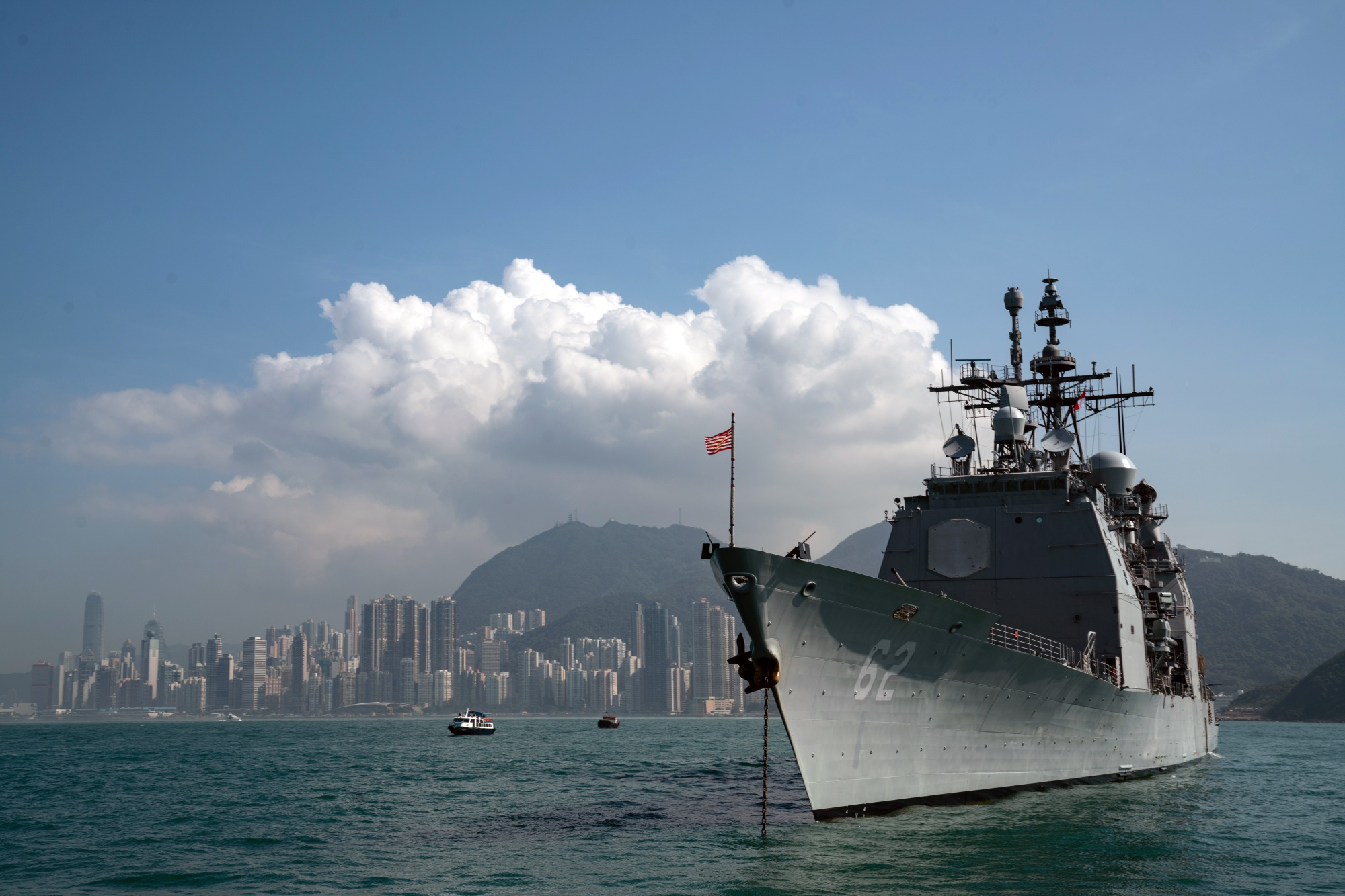 China Refuses to Allow U.S. Warships to Make Port Calls in Hong Kong