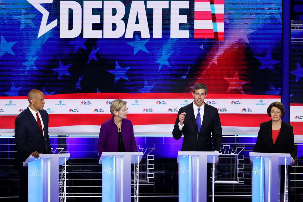 First Democratic Debate Shows What the Party Stands For