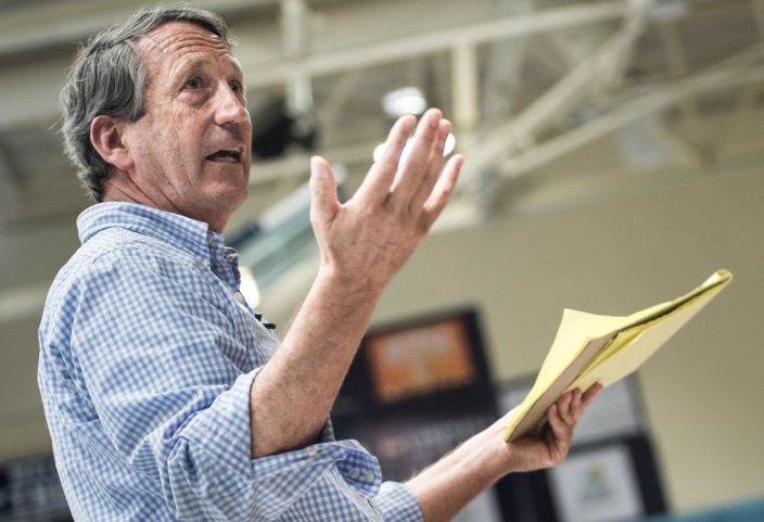 Pondering a Bid, Mark Sanford Says Trump Doesn't Deserve Second Term