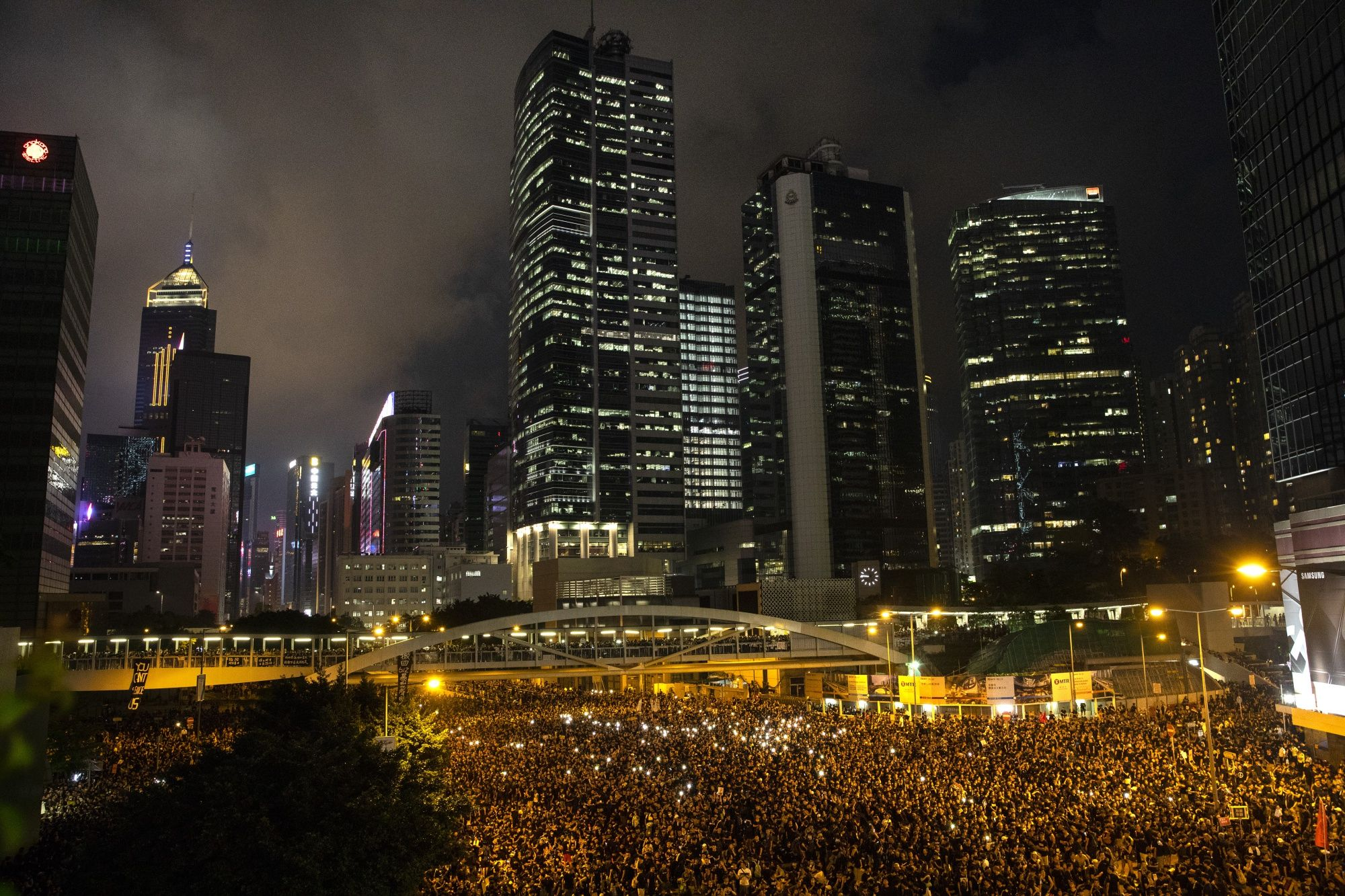 Hong Kong Protests Threaten Billionaires Ties With Beijing