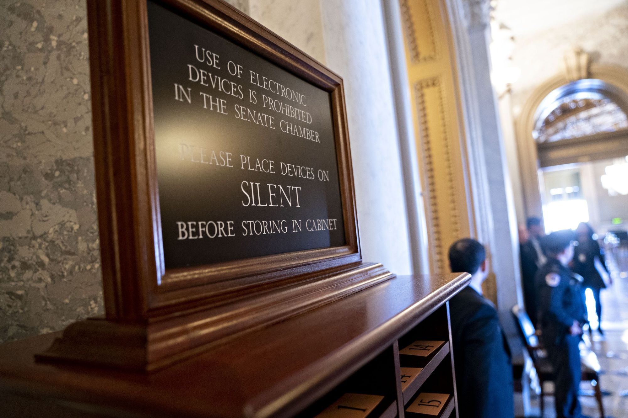 Silent Senators, No Photographers: Inside the Impeachment Trial