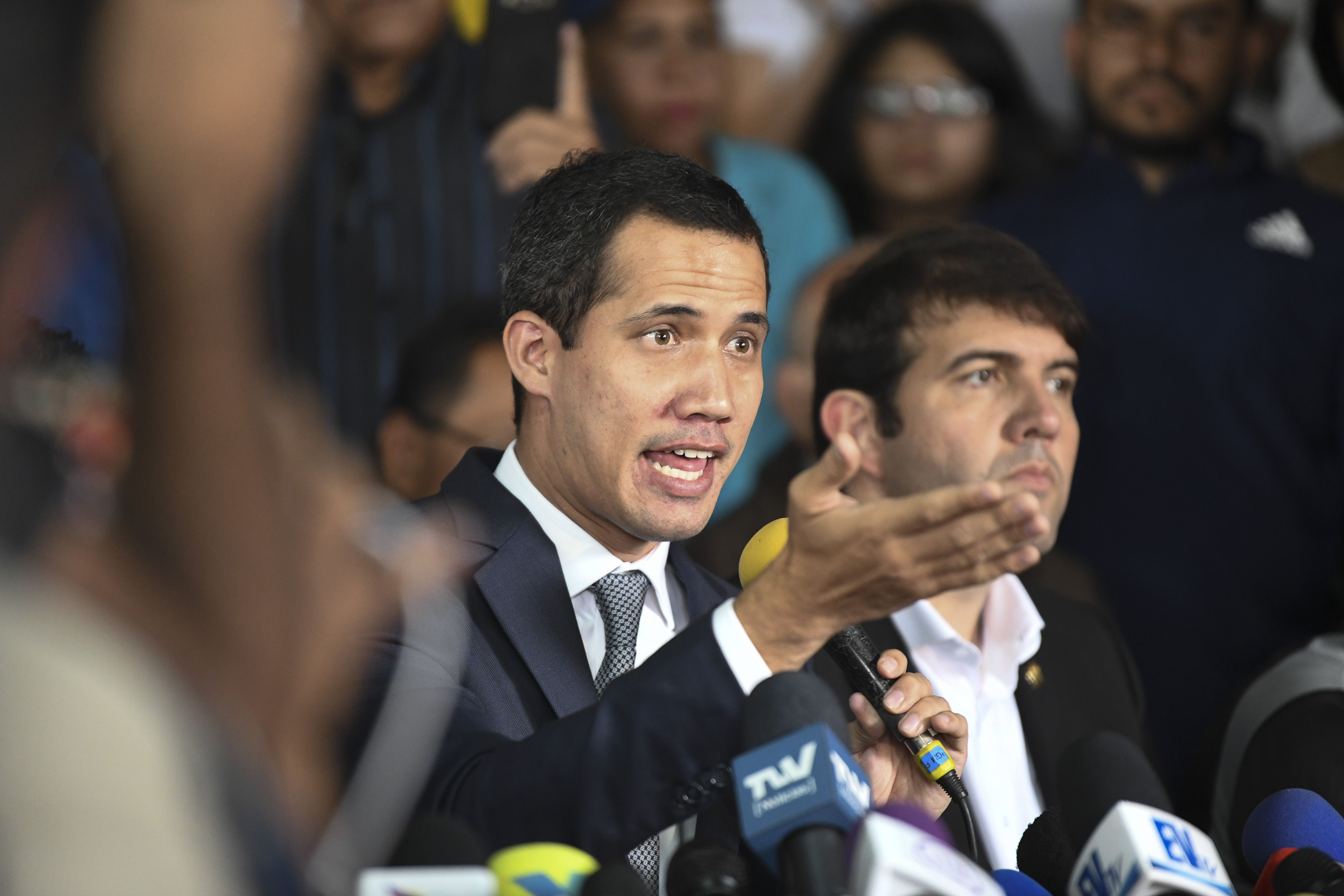 Venezuela Regime Says Guaido, Two Dozen More Planned Coups