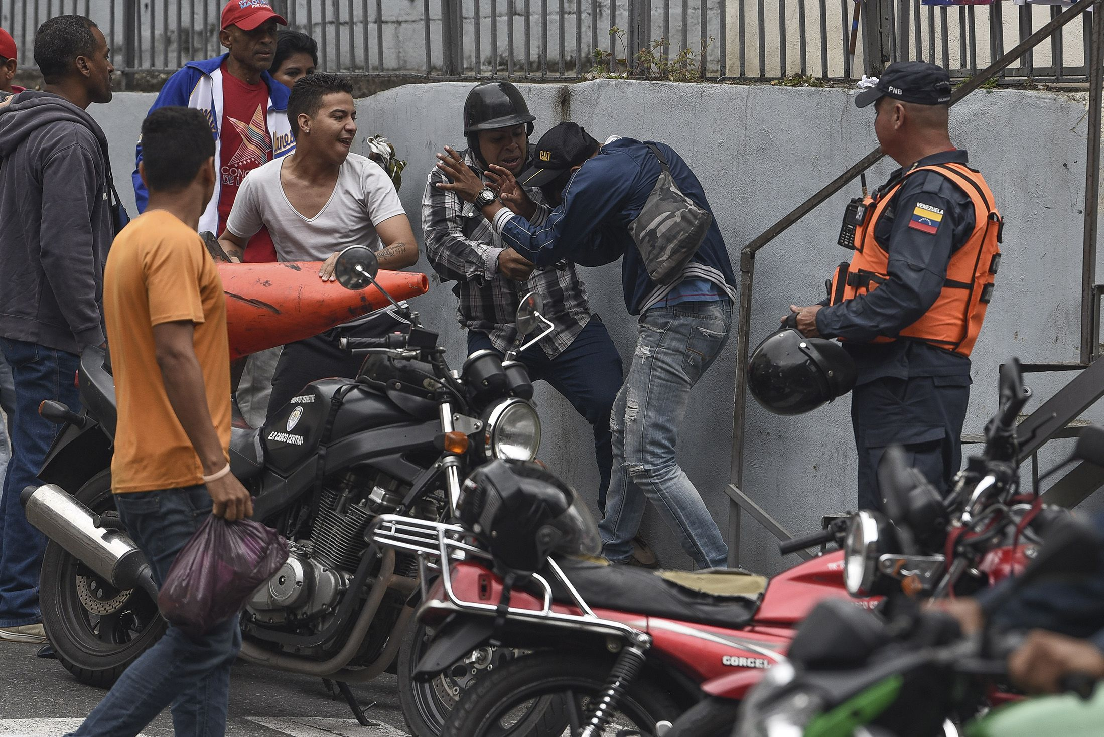 One Checkpoint, Then Another, Then Mayhem: Maduro's Men Set Trap