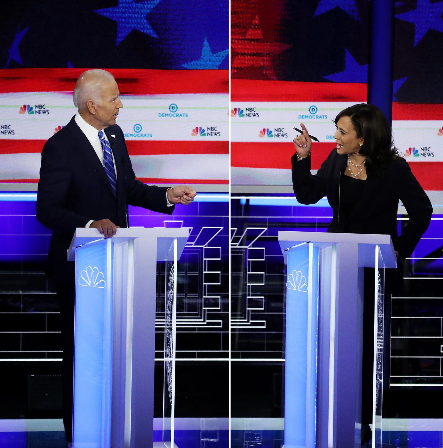 Trump Says Neither Biden Nor Harris Won Debate Clash Over Race
